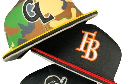 理想の野球ユニフォーム キャップのこだわりカスタマイズ【バイザーライン】