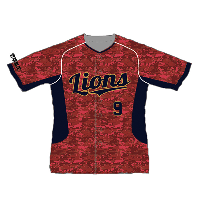 lions red jersey