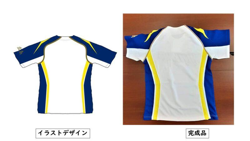 HIJIYAMA様のシャツ(裏)