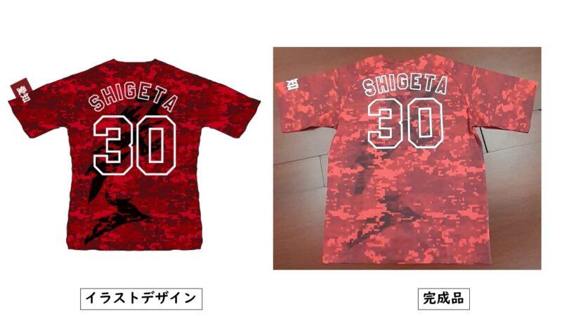 TAKANAN様のシャツ(裏)