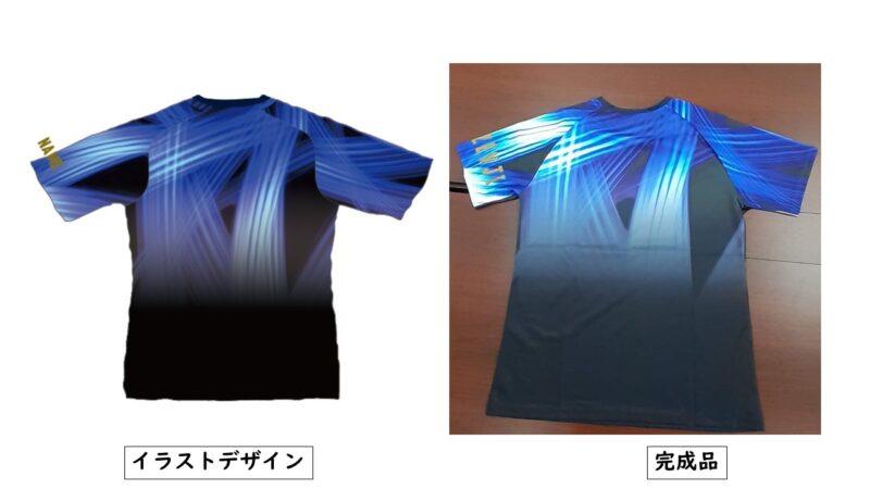 CHUOGAKUIN様のシャツ(裏)
