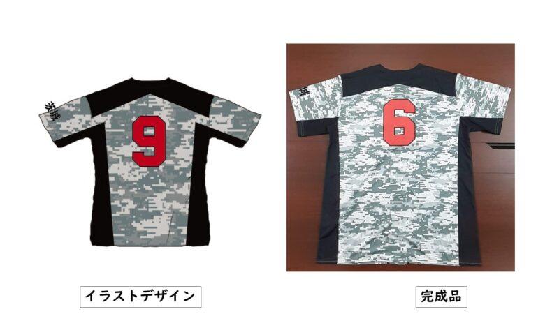 KAKIOKA様のシャツ(裏)