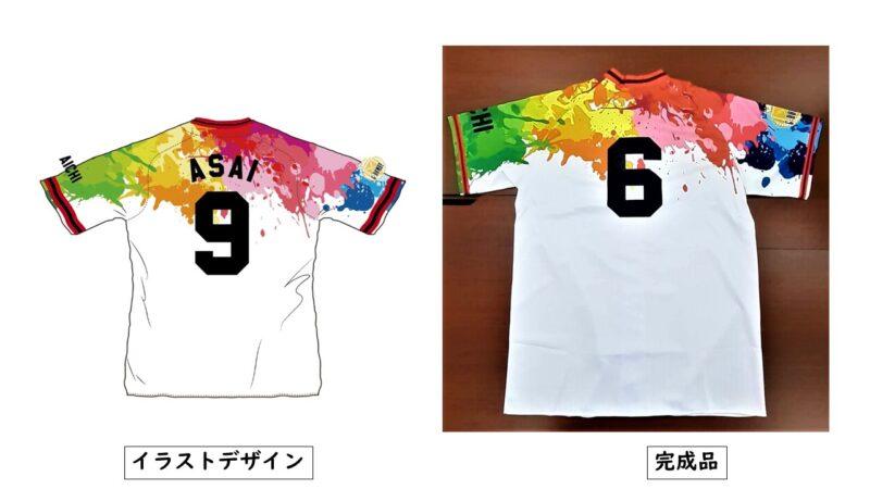 G-bomby様のシャツ(裏)